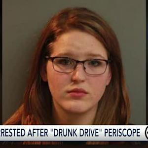 Cops: 20-year-old Periscopes drunk drive home