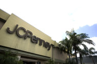 <p> This Monday, Aug. 19, 2013 photo shows the entrance to a J.C. Penney store at a Hialeah, Fla., shopping mall. On Tuesday, Aug. 20, 2013, J.C. Penney reports quarterly financial results. (AP Photo/J Pat Carter)