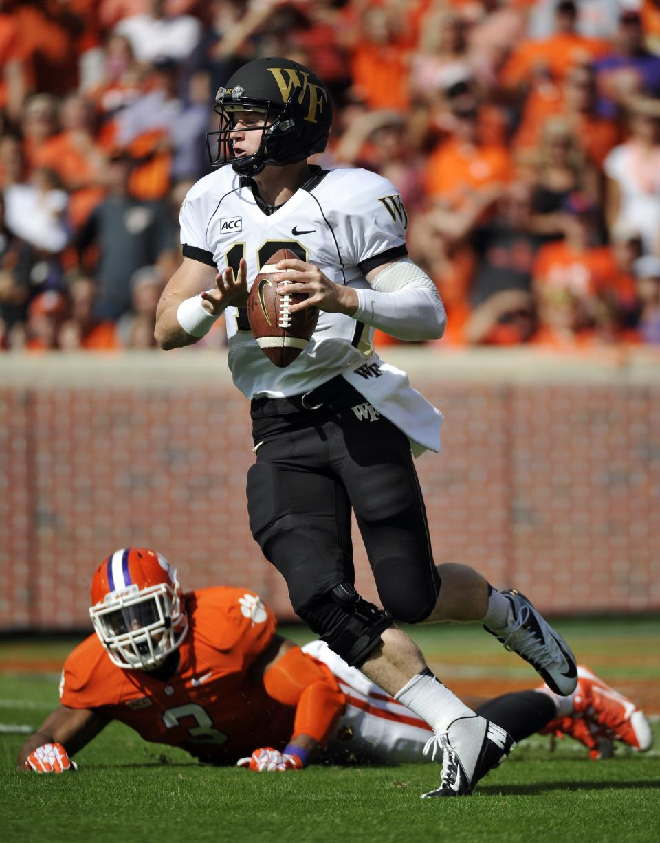 Boyd leads Clemson to 56-7 win over Wake Forest