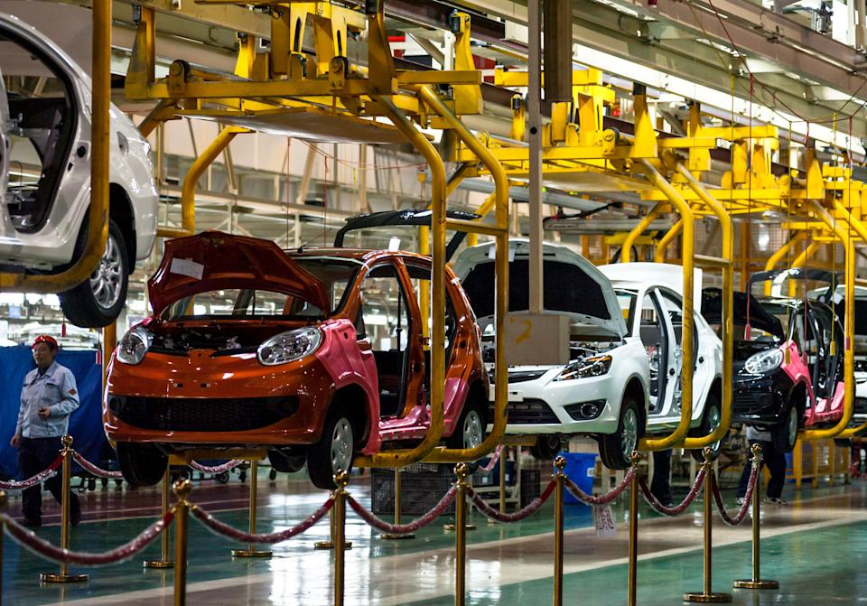 China's January auto sales surge 46 percent