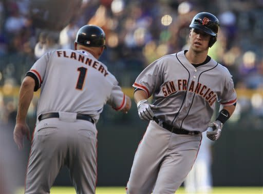 Bumgarner, Pagan lead Giants past Rockies 11-6