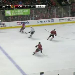 Scott Darling Save on Jake Muzzin (10:30/1st)