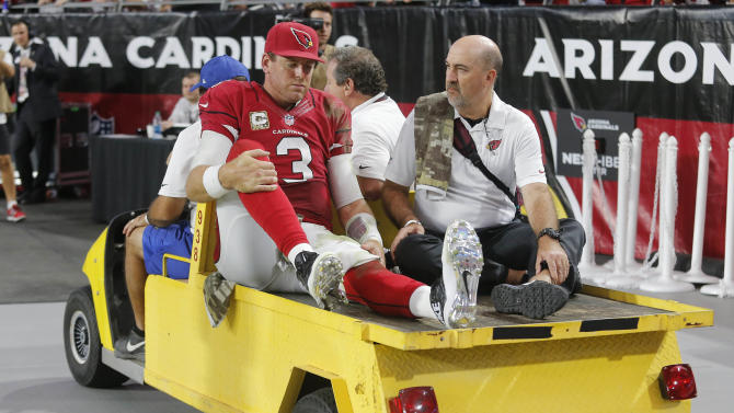 Carson Palmer's big season reaches ugly end