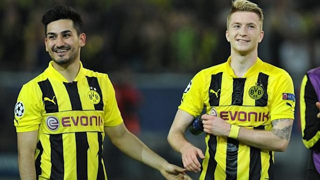 Ilkay Gundogan and Marco Reus (AFP)