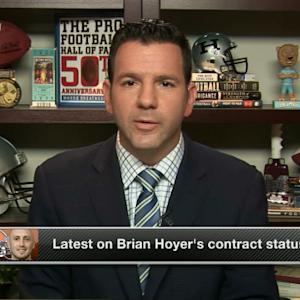 Latest on Cleveland Browns quarterback Brian Hoyer's contract situation