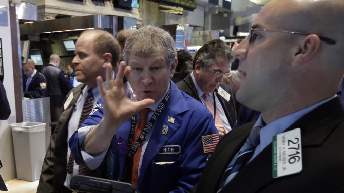 US futures up, capping a volatile week of trading