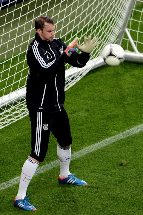 Germany's Goalkeaper Manuel …