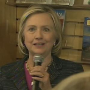 Hillary: I'm Not Running for Obama's Third Term