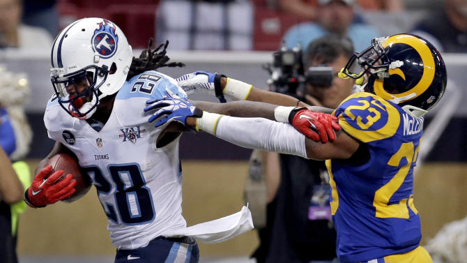Defense takes blame for loss to Titans