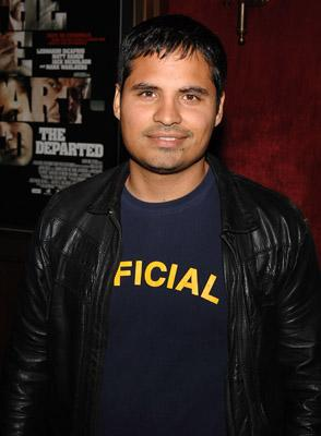 Michael Pena at the New York premiere of Warner Bros. Pictures' The Departed
