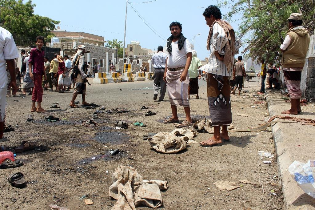 At least 41 killed in IS-claimed bombings on Yemeni forces