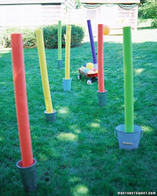 Create a Toddler Obstacle Course