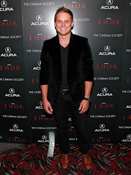 Thor NYC Screening 2011 Billy Magnussen