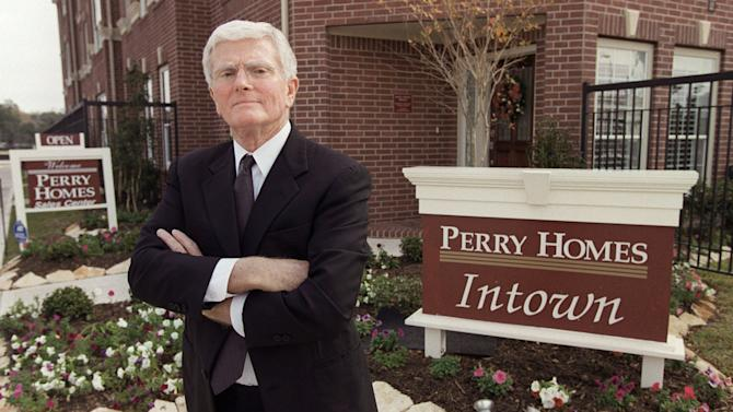 GOP super donor Bob Perry of Texas dies at 80