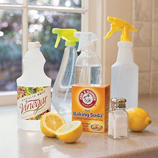 These multi-purpose items double as healthy cleaning supplies.