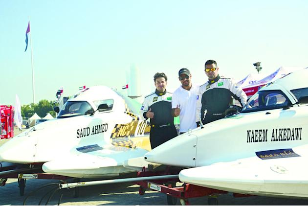Saudi powerboat F1 team bags 3rd place at Nations Cup 2013