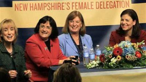 New Hampshire's All-female Delegation Inspires