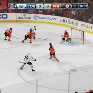 Steve Mason Save on Joffrey Lupul (01:58/1st)