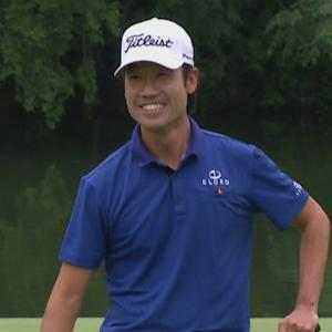 Kevin Na's celebratory birdie putt is the Shot of the Day