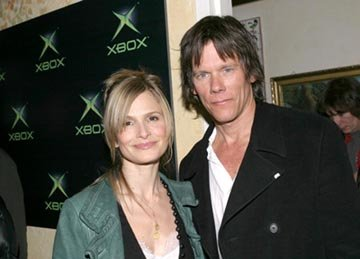 "Kyra Sedgwick and Kevin Bacon ""The Woodsman"" - 1/19/2004 Sundance Film Festival"