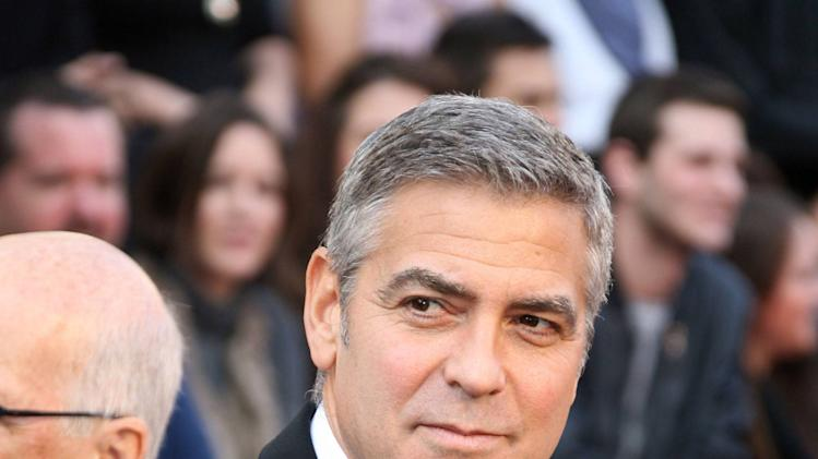 George Clooney84th Annual Academy Awards (Oscars) held at the Kodak Theatre - ArrivalsLos Angeles, California - 26.02.12Mandatory Credit: Adriana M. Barraza/ WENN.com