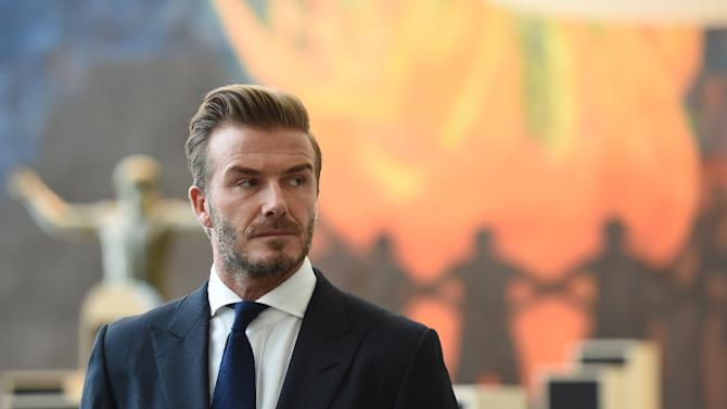 David Beckham (pictured) backed Ryan Giggs to take over as Manchester United manager in the future