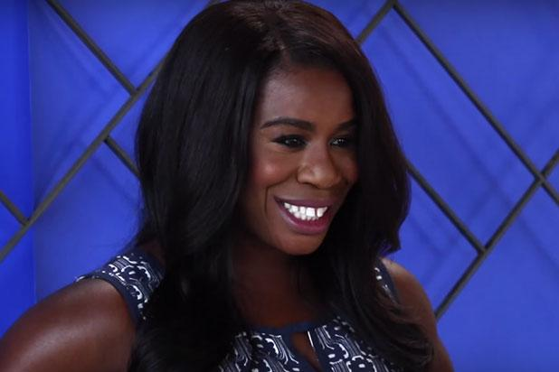 Uzo Aduba Recalls Hearing Voice of God – Morgan Freeman – During Her First Emmy Win (Video)