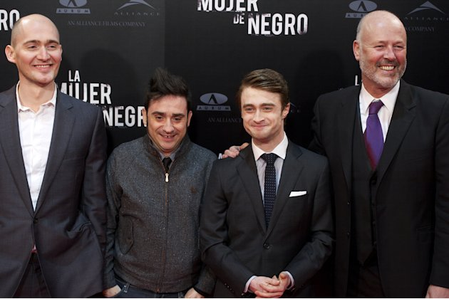 'The Woman in Black' Madrid Premiere