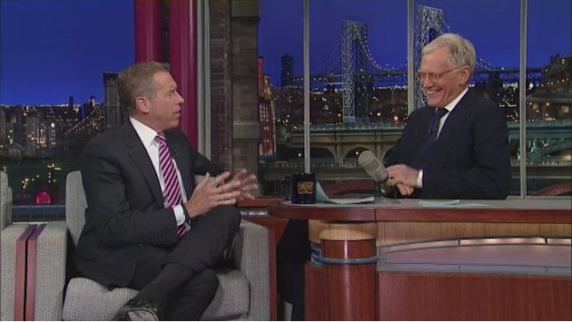 David Letterman - Brian Williams …