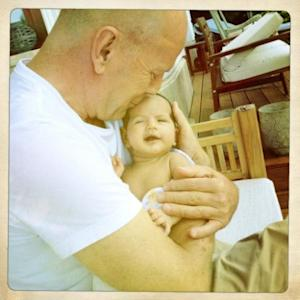 Bruce Willis is seen with daughter Madel in May 2012 -- Twitter