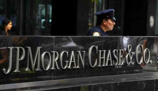 <p>JP Morgan Chase world headquarters on Park Avenue in New York pictured in July. US banking giant JPMorgan Chase's third quarter earnings surged 34 percent on a turnaround in the bank's own investment activities and improvement in most other business areas, the company said Friday.</p>