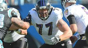Ravens agree with C Birk on three-year deal