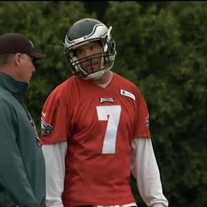 NFL Media's Albert Breer: Philadelphia Eagles quarterback Sam Bradford taking baby steps in Eagles OTAs
