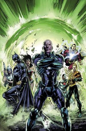 """This comic image released by DC Entertainment shows the cover art for """"Justice League."""" (AP Photo/DC Entertainment)"""