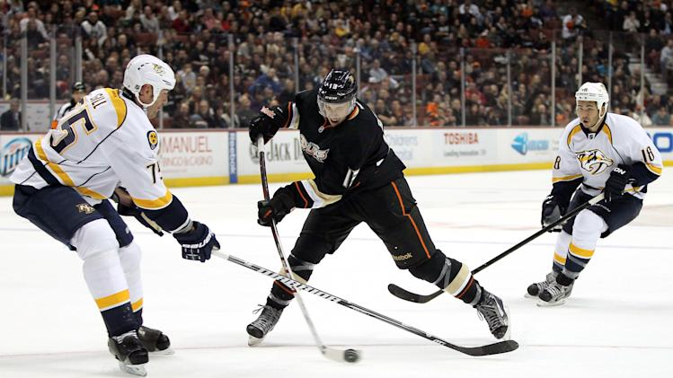 Nashville Predators v Anaheim Ducks