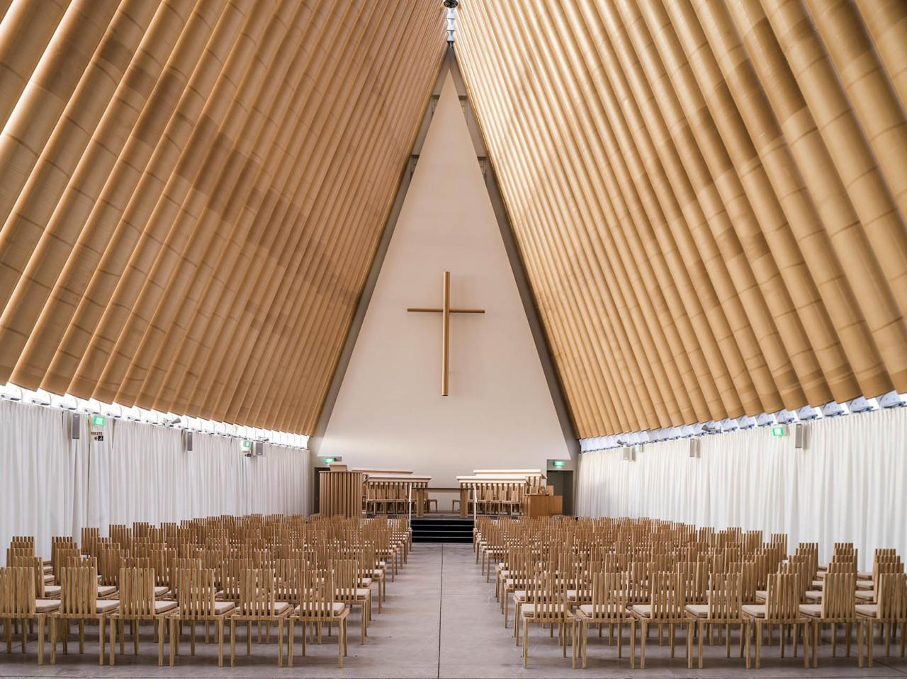 Paper Churches & Beer Crate Houses: Architect Shieru Ban Brings New Meaning to Recycling