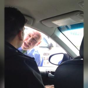 NYPD Detective Caught Screaming and Yelling at Uber Driver