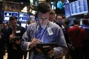Stock index futures point to flat open