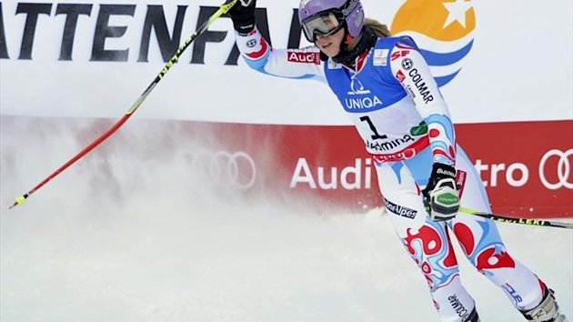 Holt Gold im Riesenslalom: Tessa Worley