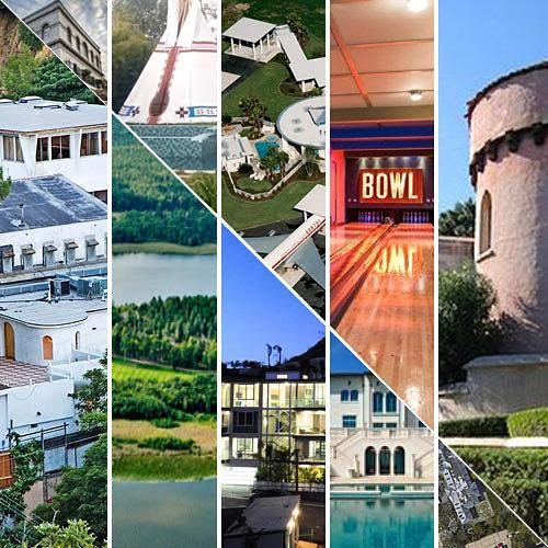 Curbed National: Map: 25 Outrageous Celebrity Houses, Islands, and Even Tombs