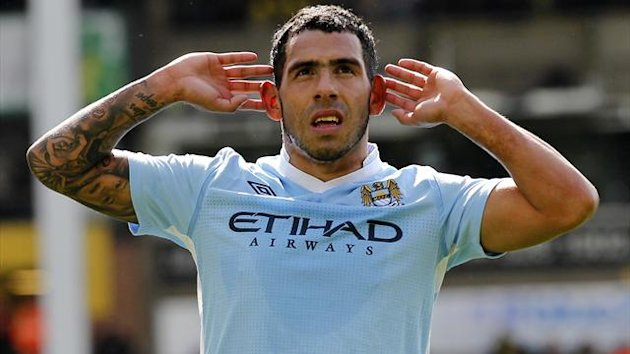 FOOTBALL 2012 Manchester City - Tevez