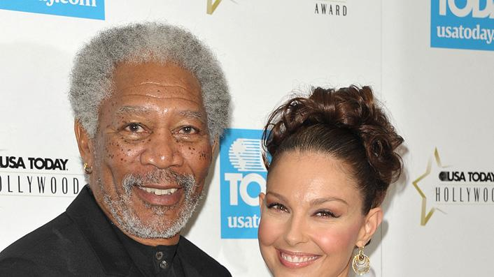 Morgan Freeman 2009 Ashley Judd