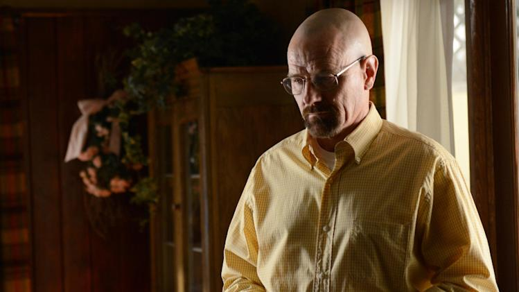 "This image provided by AMC shows Bryan Cranston as Walter White in a scene from ""Breaking Bad."" More people are binge watching their favorite shows thanks to video streaming and On Demand services. For some, binging on TV shows and movies feels a whole lot like dating. (AP Photo/AMC, Ursula Coyote)"