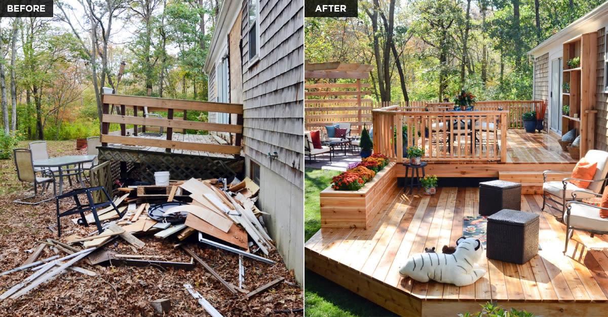 15 Amazing Backyard Transformations
