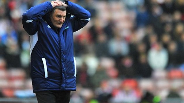 Middlesbrough manager Tony Mowbray endured a frustrating evening