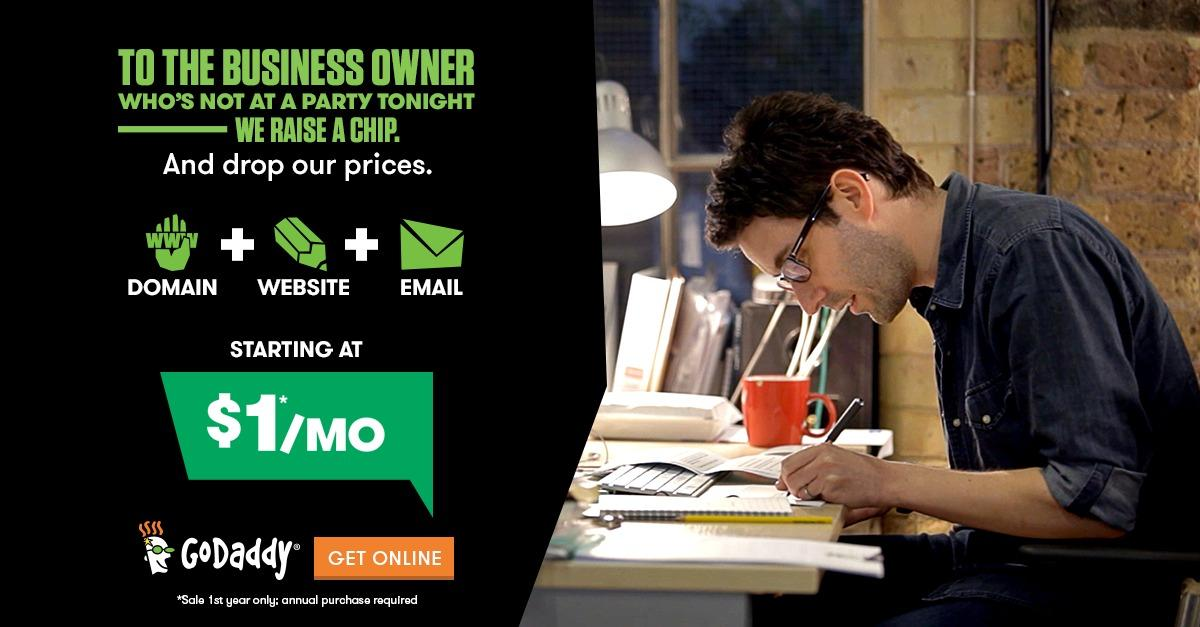 Get Your Business Online Today with GoDaddy