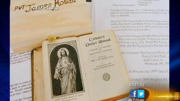 Daily Herald: Prayer Book Comes Home