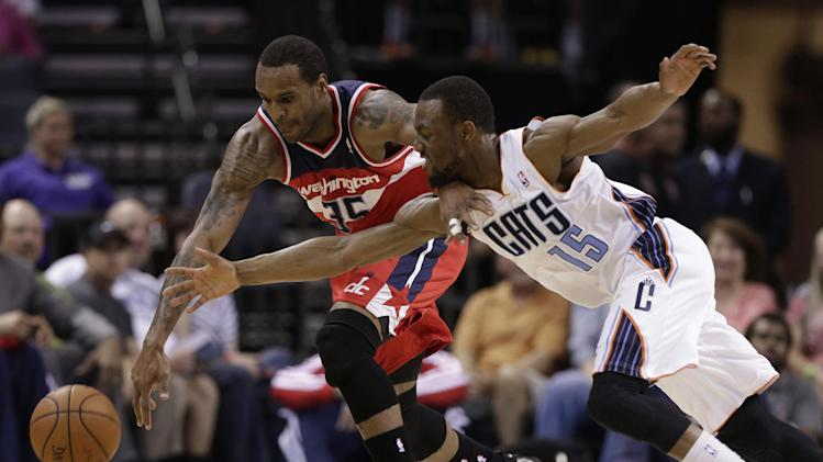 Bobcats battle back to top Wizards 100-94