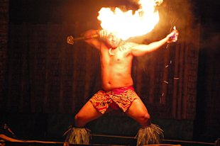 Telemarketing Tips – Play With Politics, Prepare To Get Burned image Fire dancer