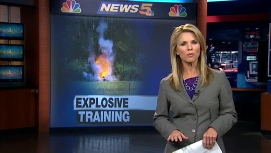 TSA, local first responders train to deal with explosives